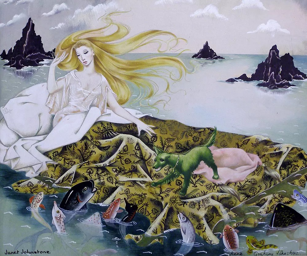 Janet Anne Grahame Johnstone illus Princess Dream