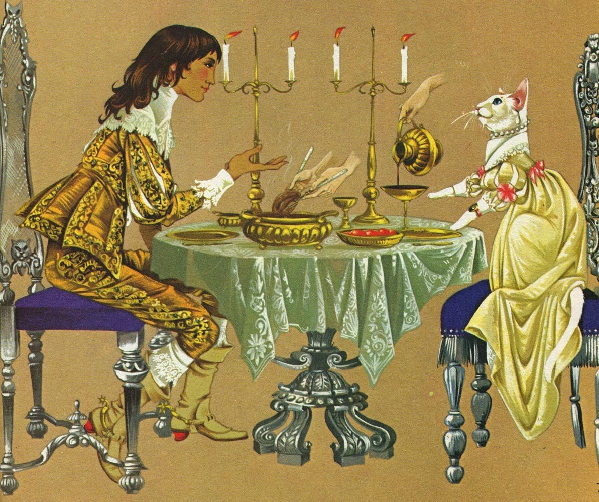 Janet Anne Grahame Johnstone illus The White Cat