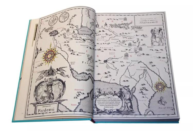 Shahnameh map