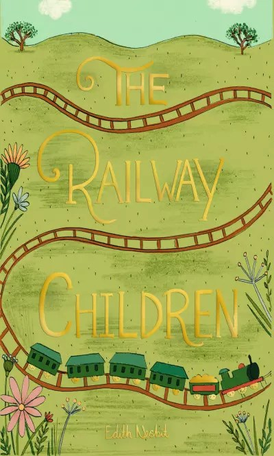 wordsworth collectors editions the railway children by enid nesbit