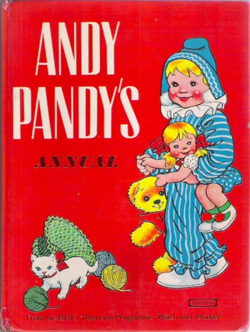Grahame Johnstone Twins Andy Pandys Annual