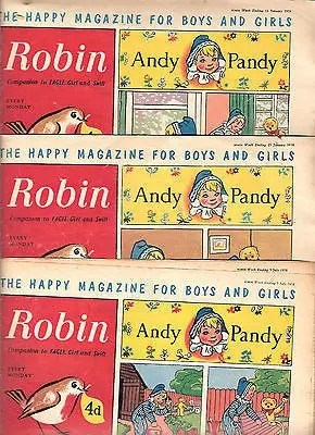 Grahame Johnstone Twins Robin Comics