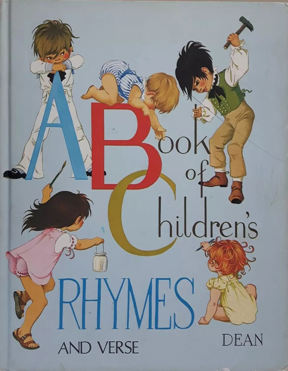 Janet Anne Grahame Johnstone A Book of Childrens Rhymes and Verse