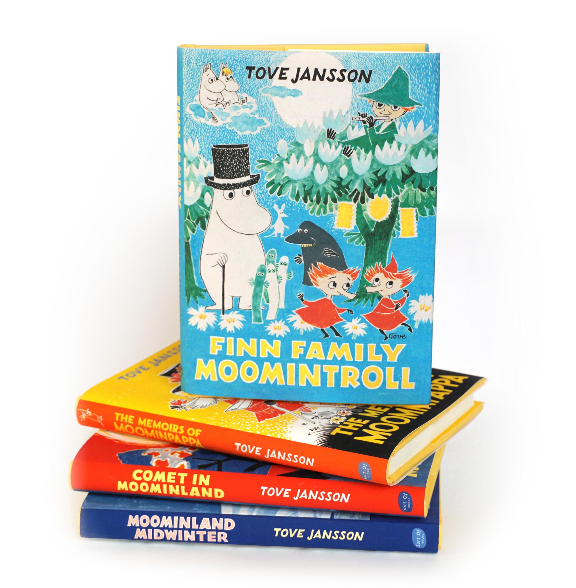 Finn Family Moomintroll collection