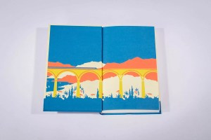 agatha christie se mystery of the blue train endpapers lg