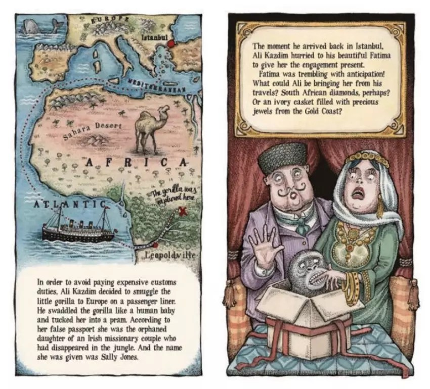 legend of sally jones illustrations
