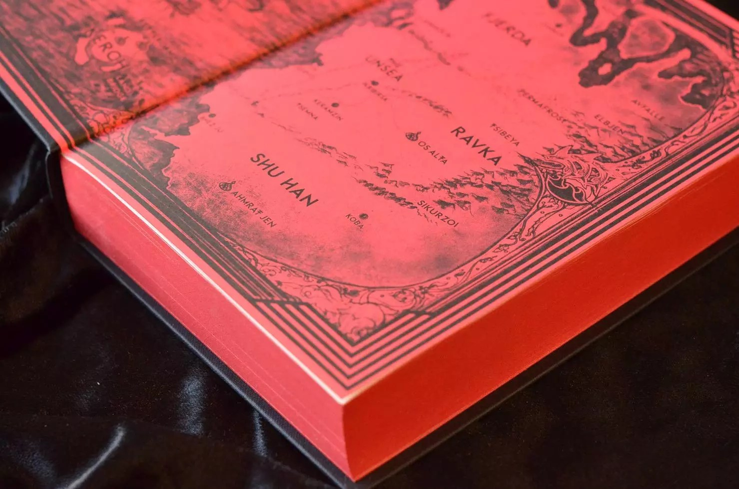 six of crows collectors edition map