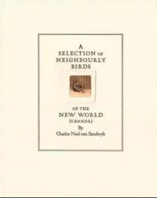 1987 CVS A Selection of Neighbourly Birds
