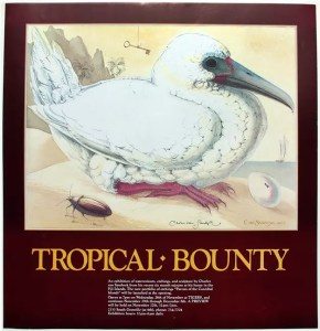 1990 tropical bounty poster