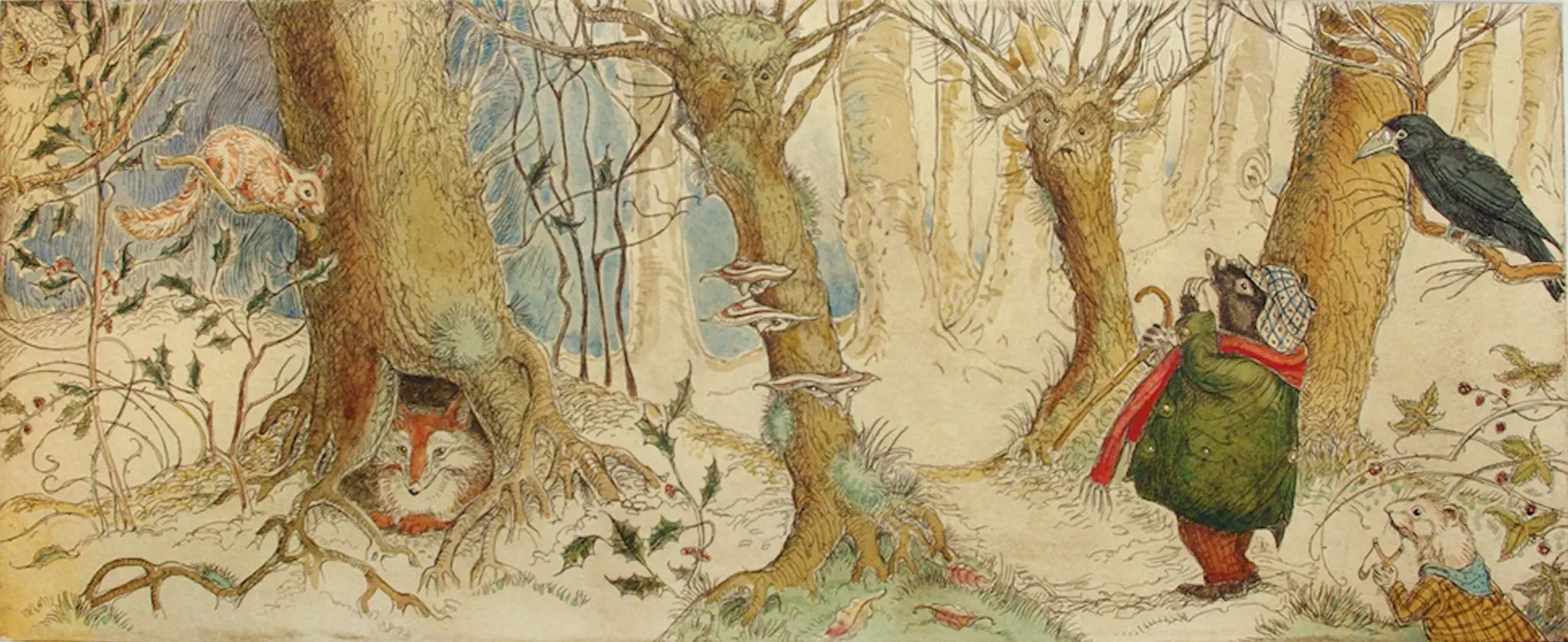 CVS Wind in the Willows etching