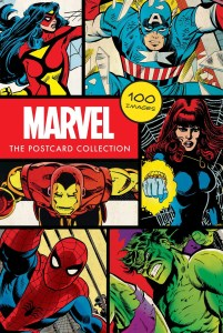 marvel comics postcards cover