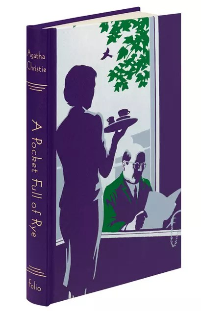 Folio Society Agatha Christie Andrew Davidson Marple A Pocket Full of Rye