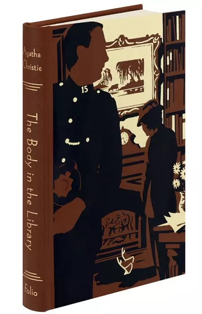 Folio Society Agatha Christie Andrew Davidson Marple The Body in the Library