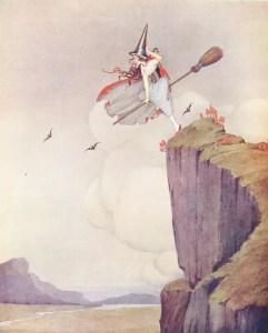 ida rentoul outhwaite fairyland the witch