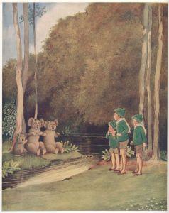 ida rentoul outhwaite fairyland three bears