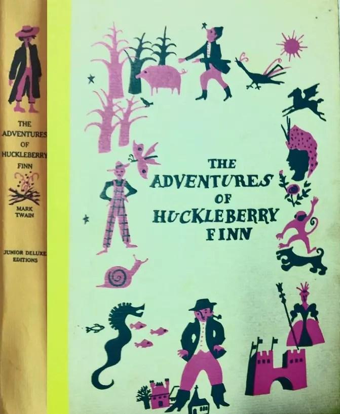 JDE Adventures of Huckleberry Finn FULL cover original cloth2