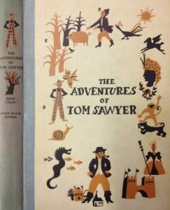 JDE Adventures of Tom Sawyer FULL OLD cover