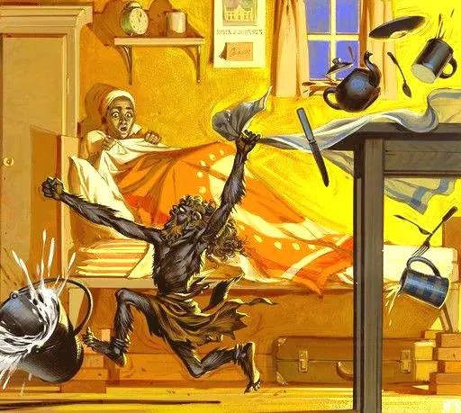 Angus McBride Beasts Tokoloshe illus