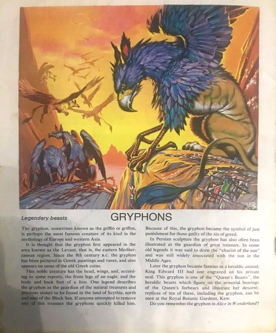 Finding Out 16 2 McBride Beasts Gryphons crop