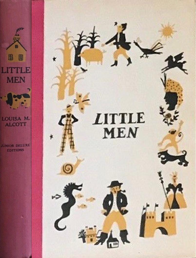 JDE Little Men FULL old red cover