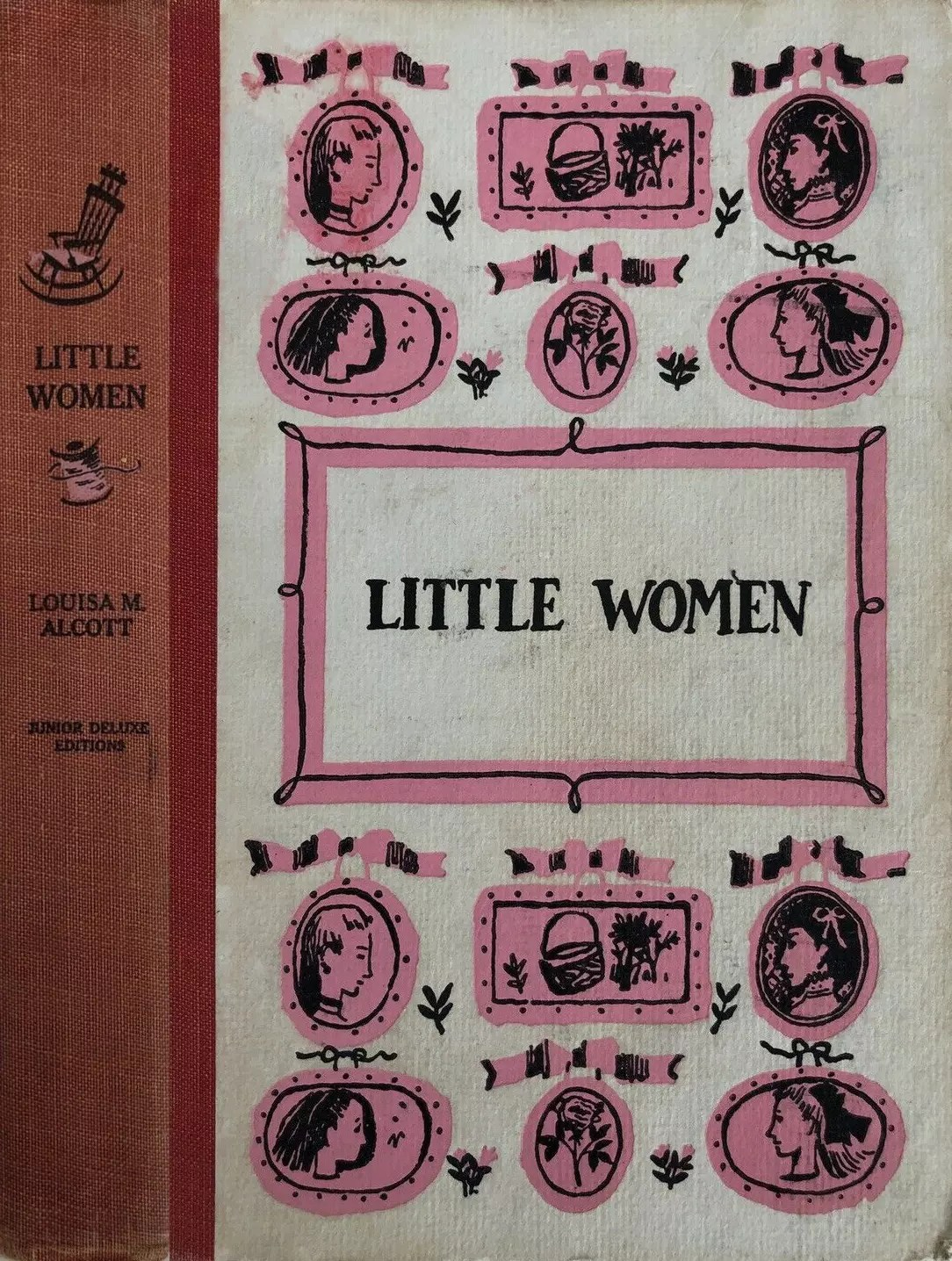 JDE Little Women FULL red cover
