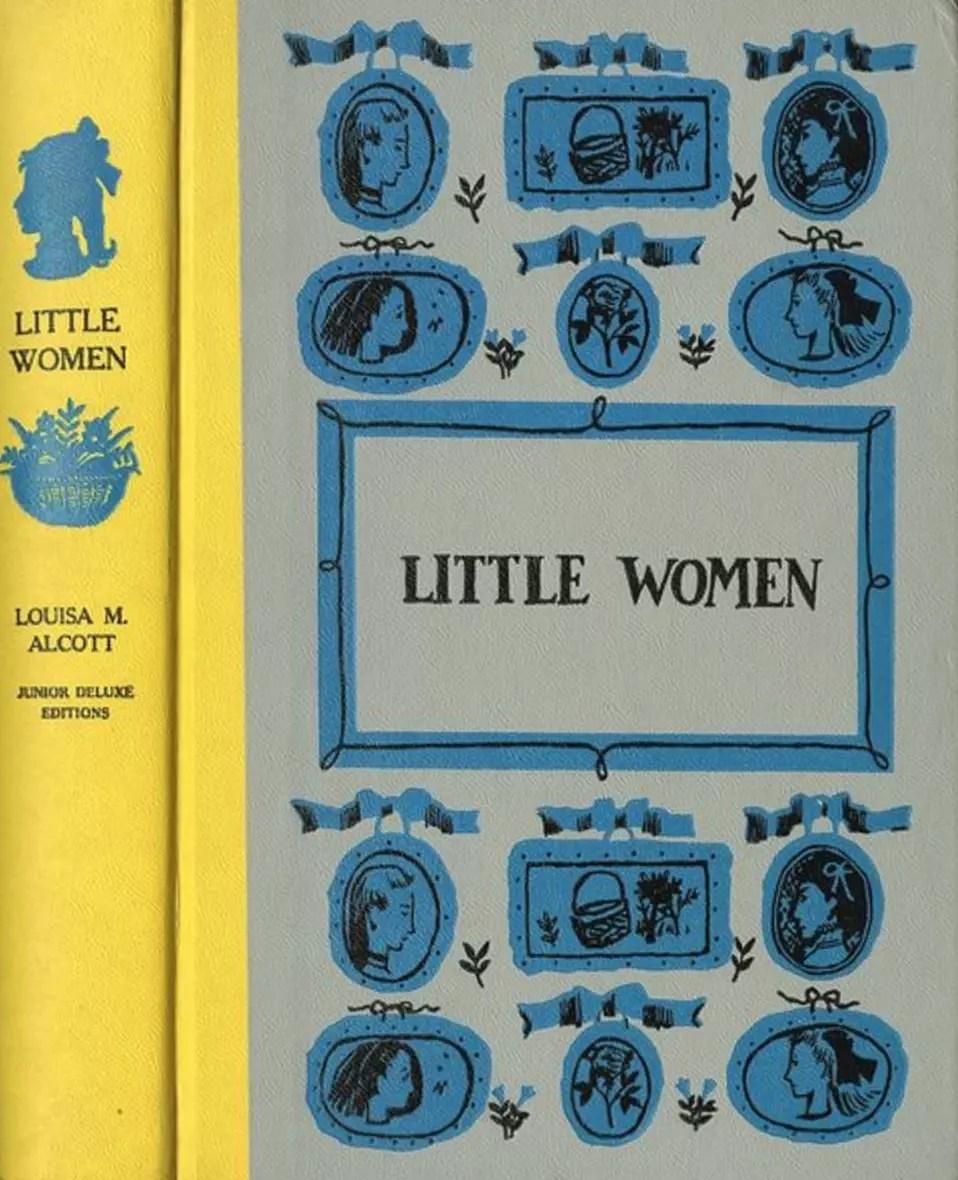 JDE Little Women FULL yellow grey cover