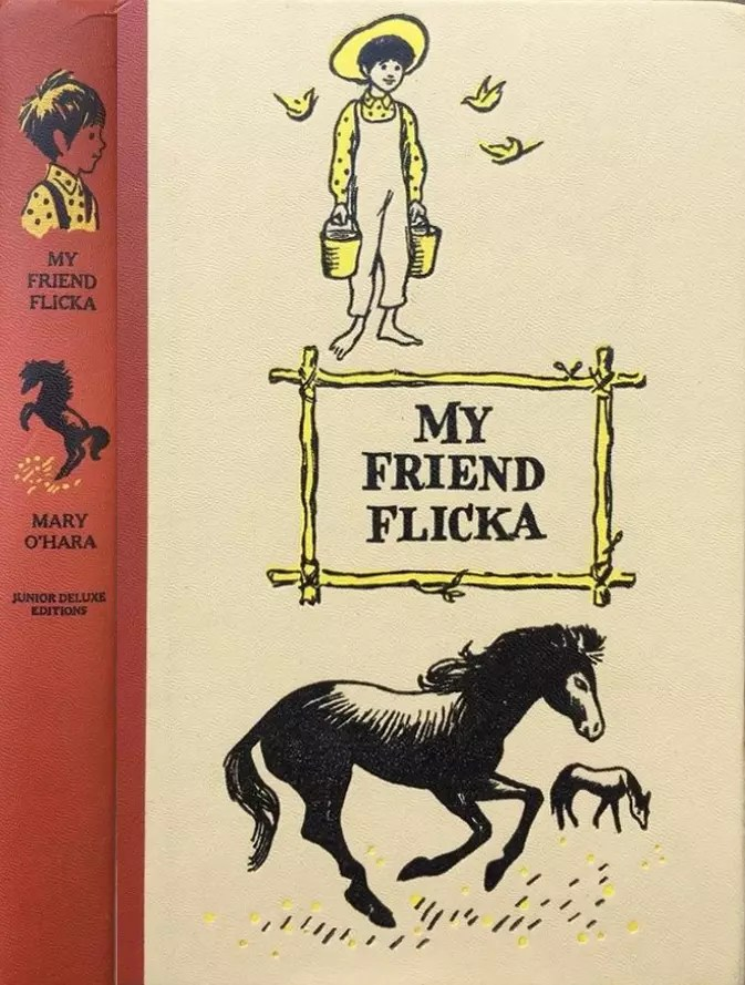 JDE My Friend Flicka FULL red cover