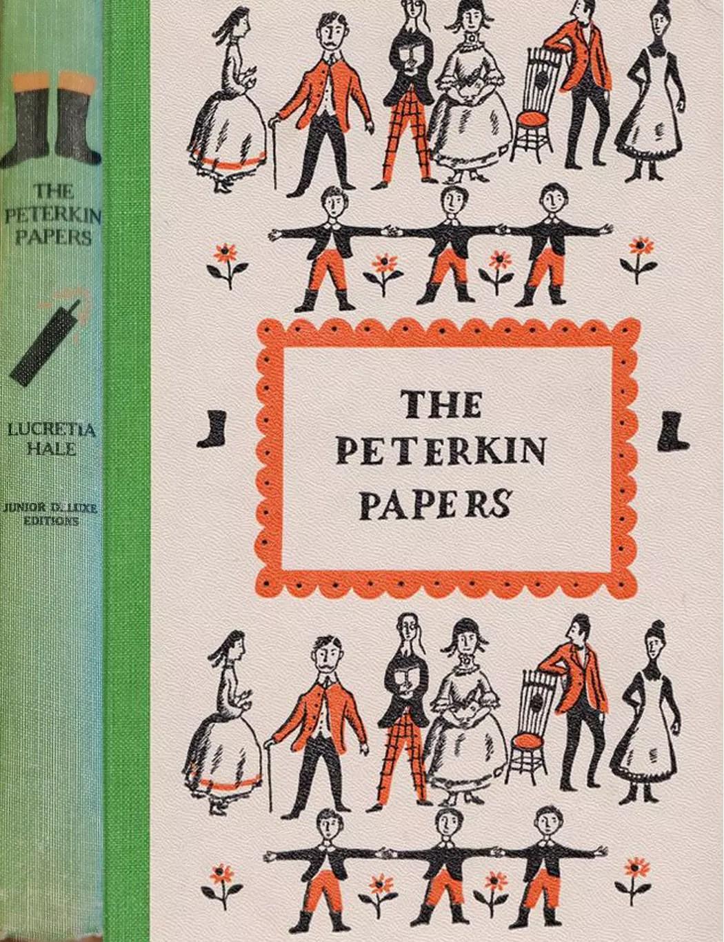JDE Peterkin Papers FULL green Cover