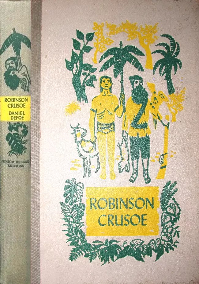 JDE Robinson Crusoe FULL early cover