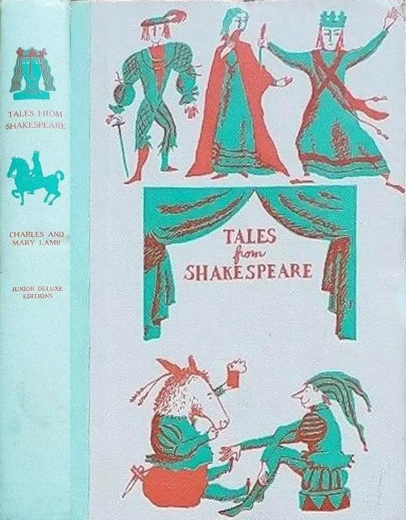 JDE Tales from Shakespeare FULL green cover