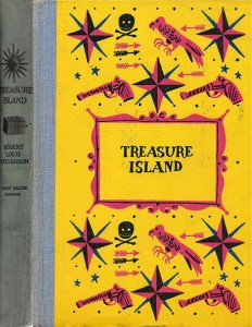 JDE Treasure Island FULL yellow old cover