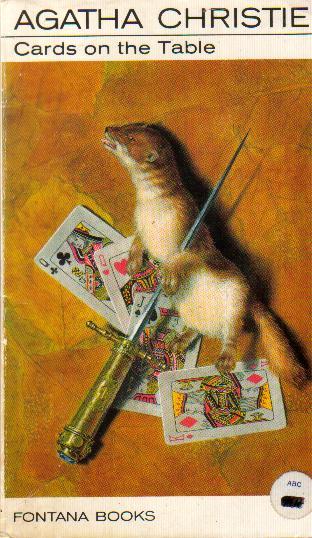 Agatha Christie Ian Robinson Cards on the Table 2 Fontana