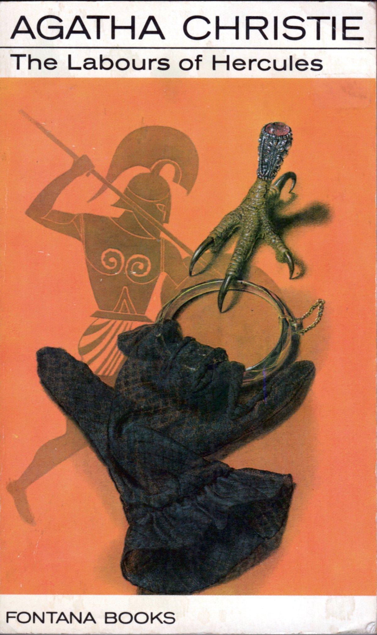 Agatha Christie Ian Robinson The Labours of Hercules 2 Fontana 1967