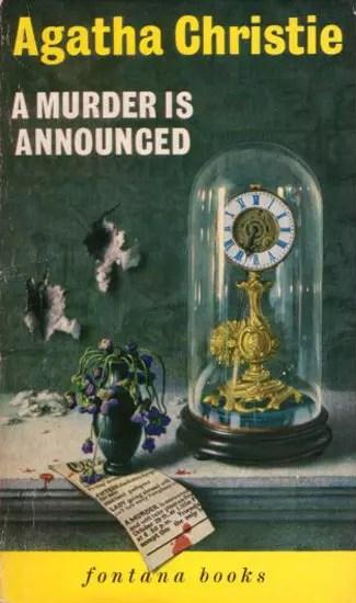 Agatha Christie Tom Adams A Murder is Announced Fontana 1963