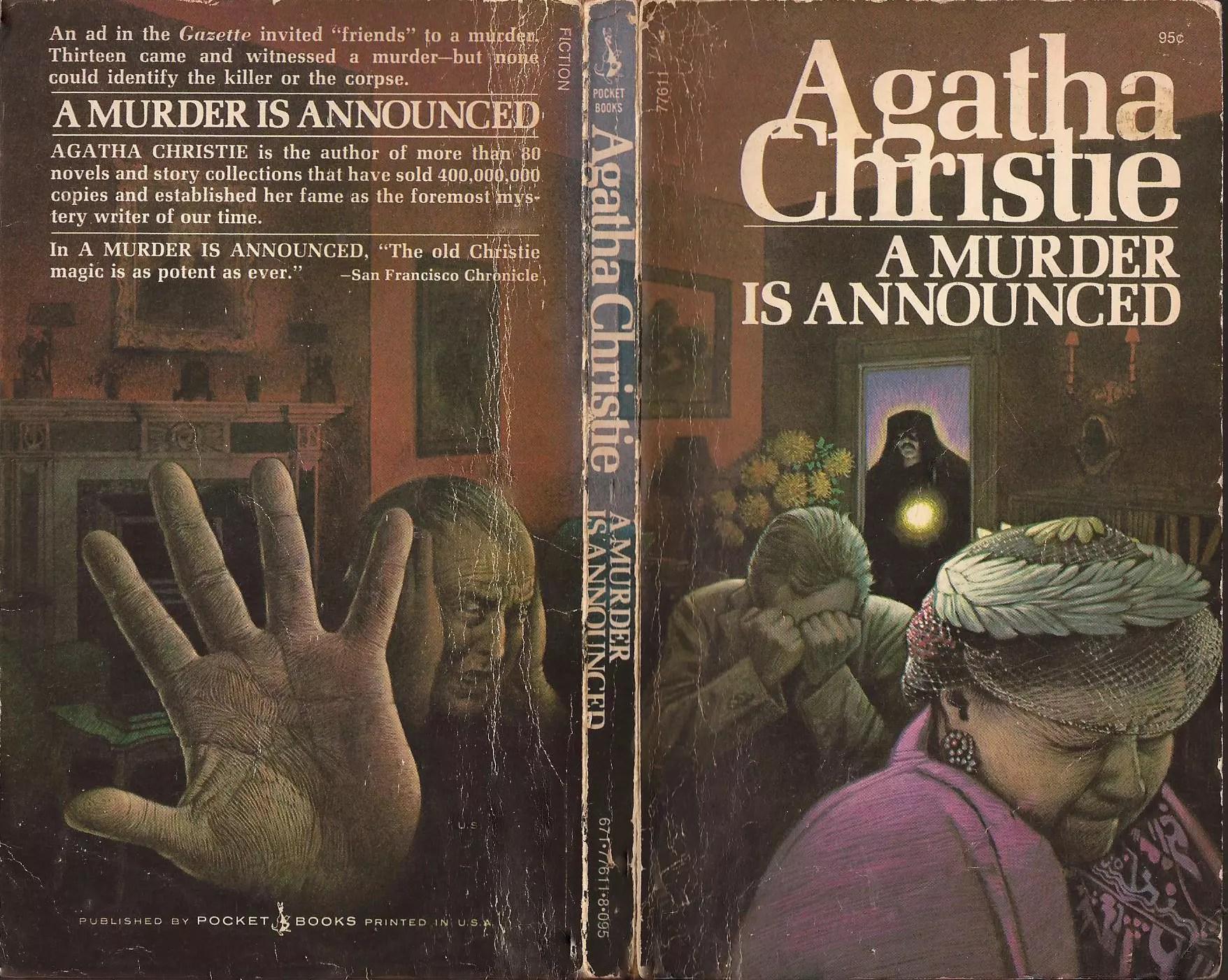 Agatha Christie Tom Adams A Murder is Announced Pocket Books