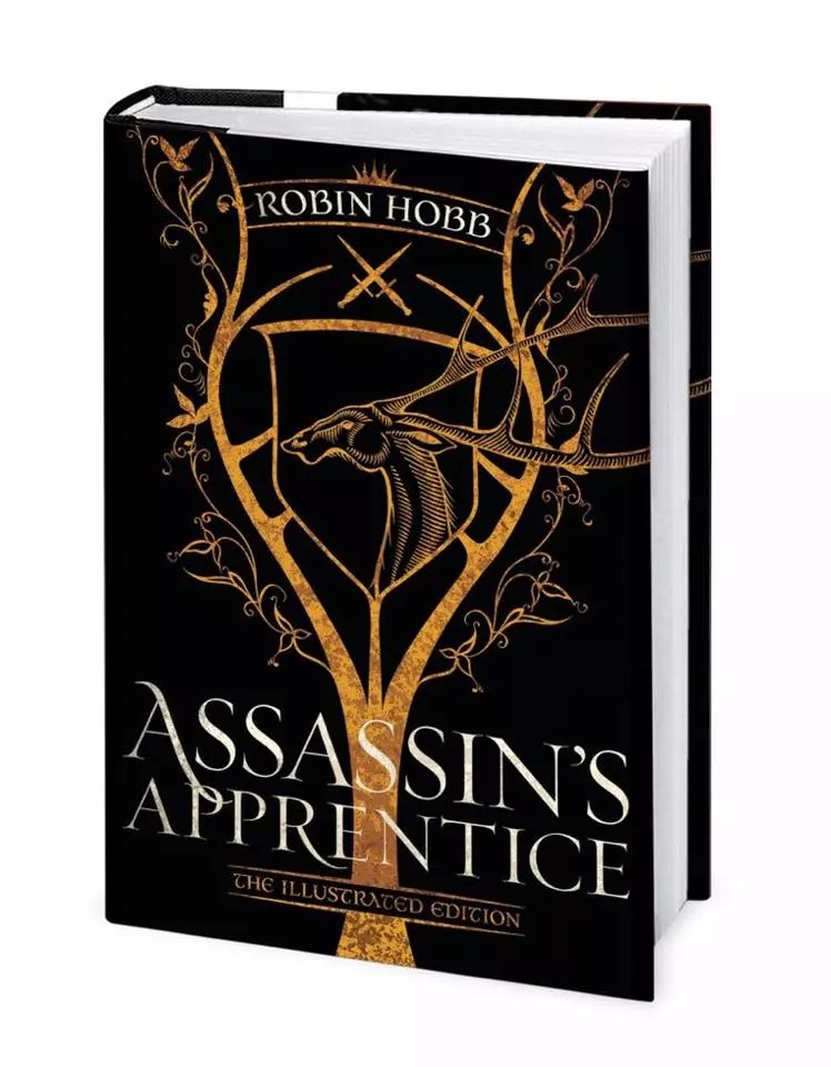 Robin Hobb Assassins Apprentice Illustrated cover