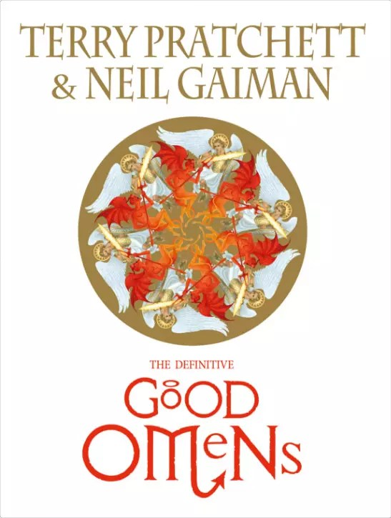 Slipcased Good Omens cover