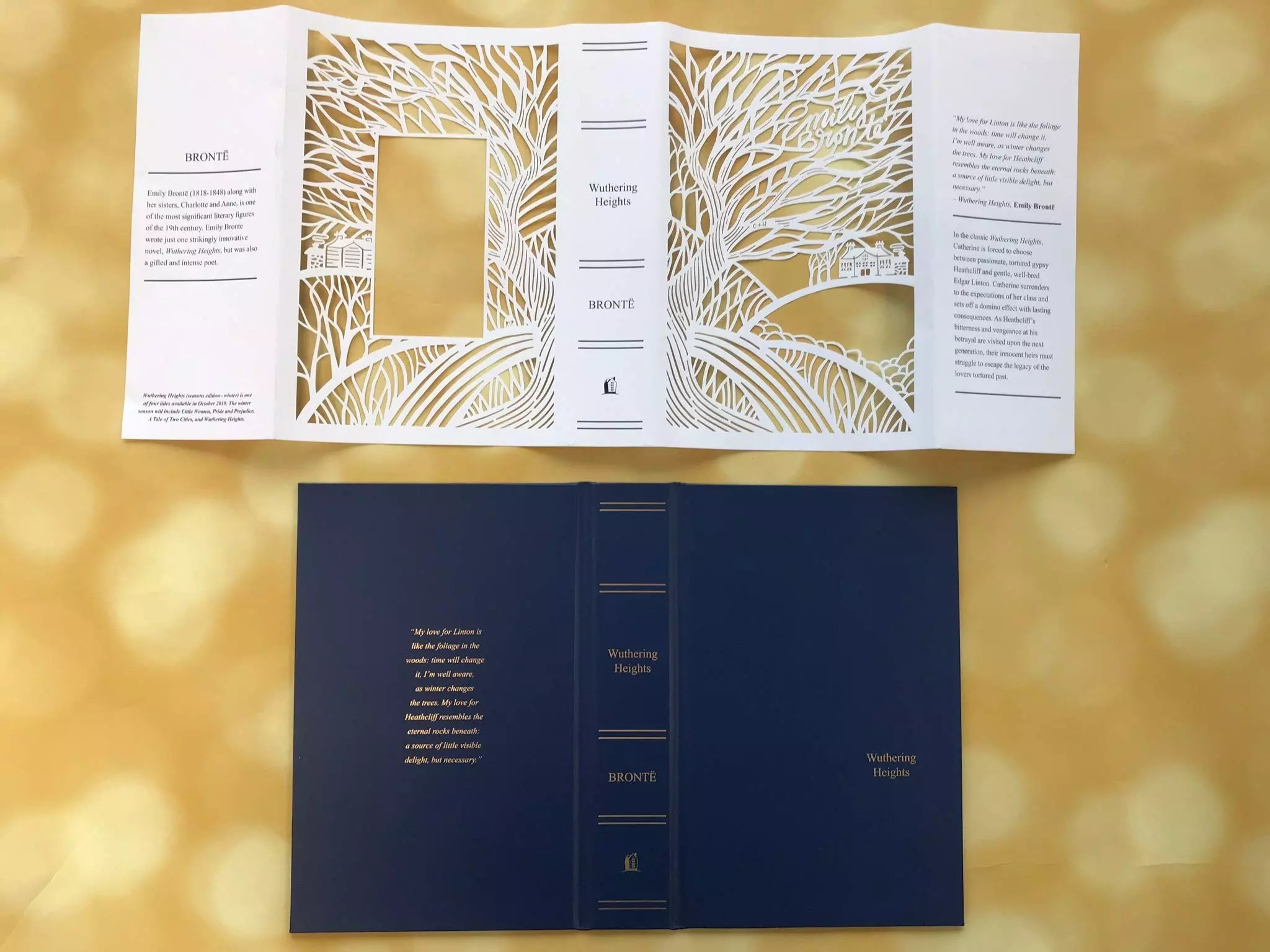 seasons edition emily bronte wuthering heights boards