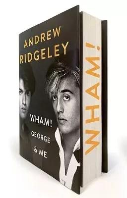 Andrew Ridgeley Wham sprayed edges