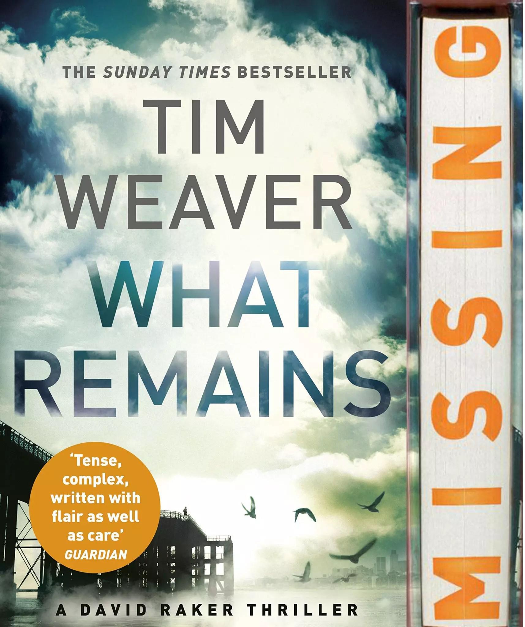 Tim Weaver What Remains sprayed edge