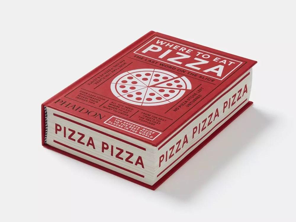 phaidon where to eat pizza sprayed edges