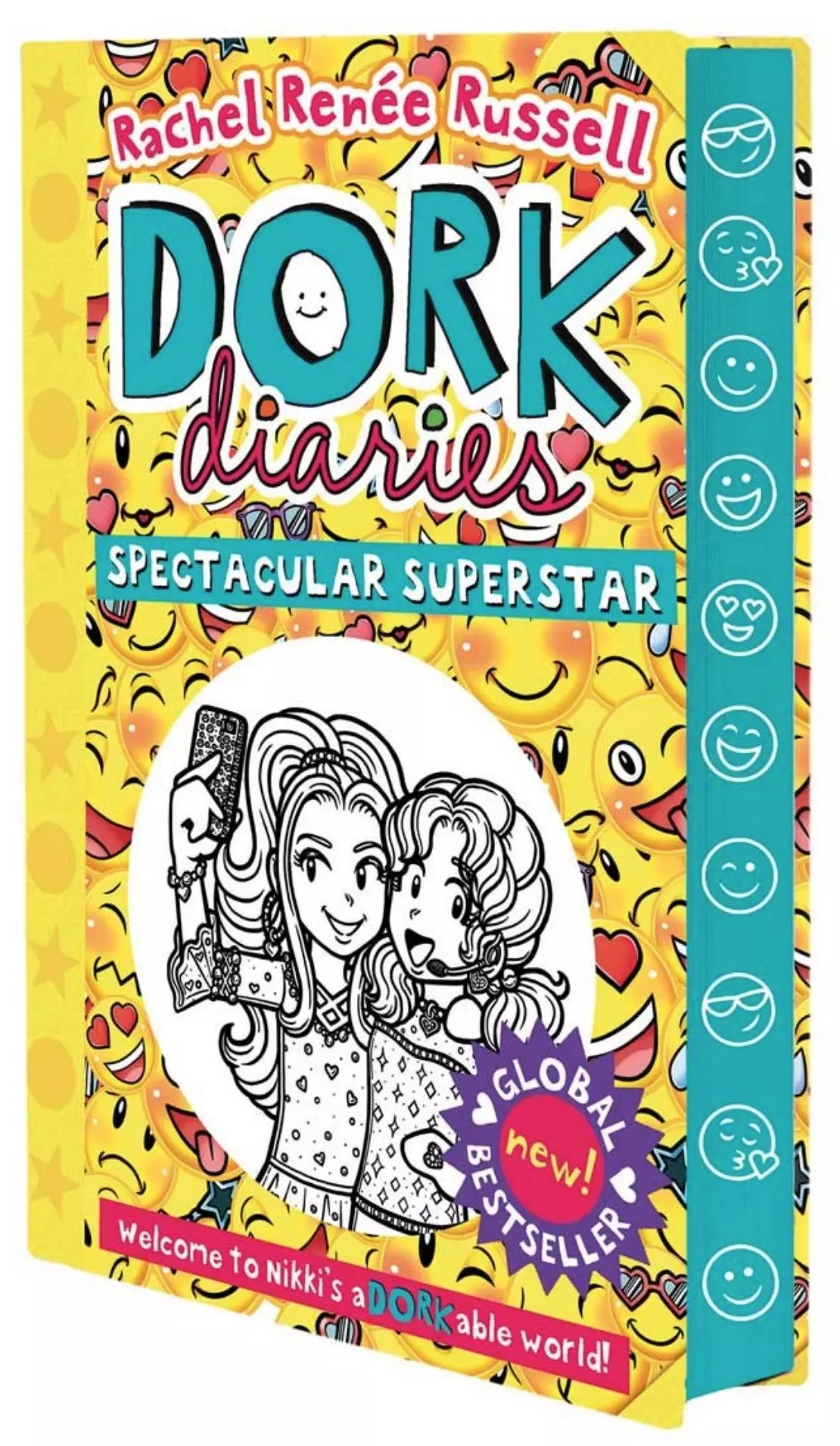 rachel renee russell dork diaries spectacular sprayed edges