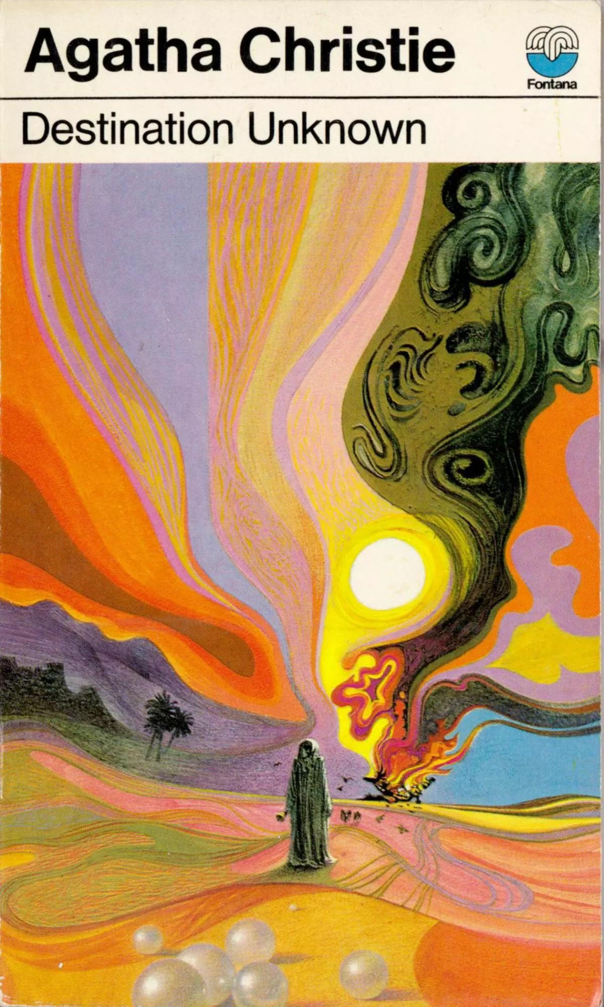 Agatha Christie Tom Adams Destination Unknown Fontana 1973
