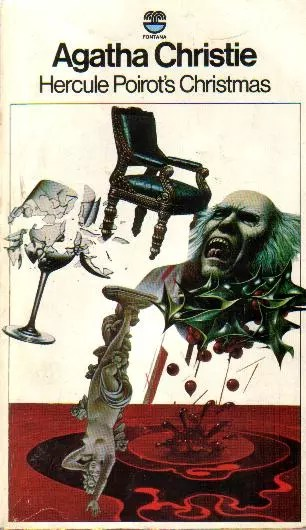 Agatha Christie Tom Adams Hercule Poirots Christmas Fontana 1978
