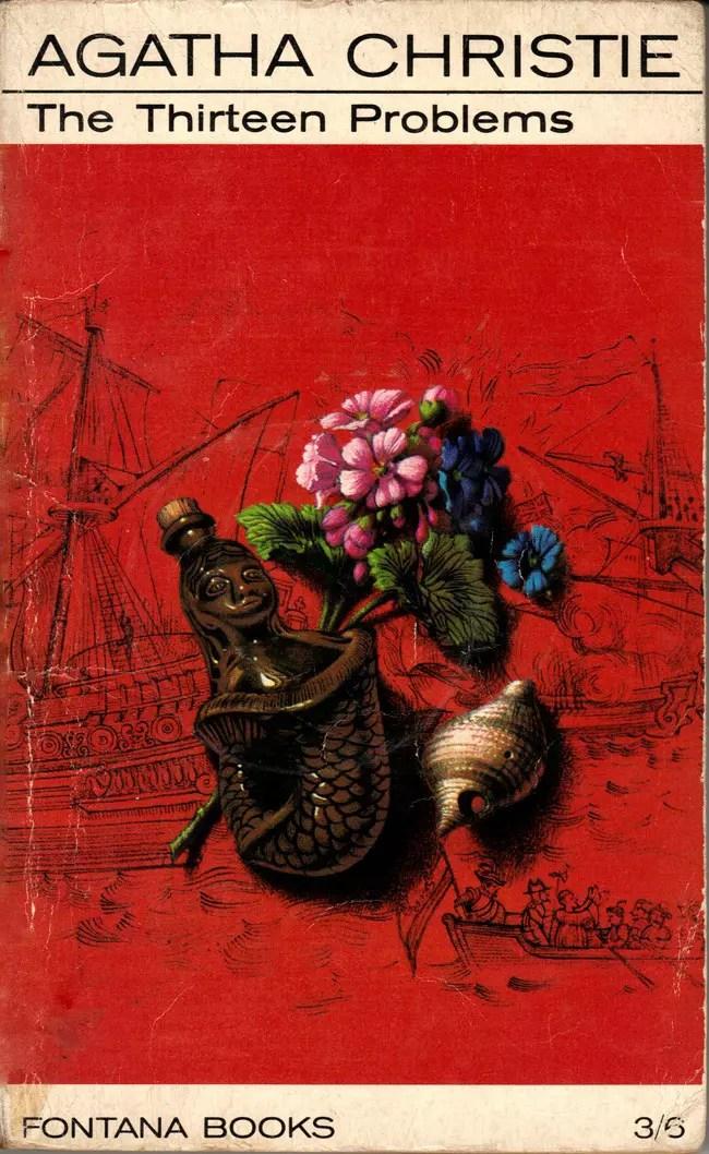 Agatha Christie Tom Adams The Thirteen Problems Fontana