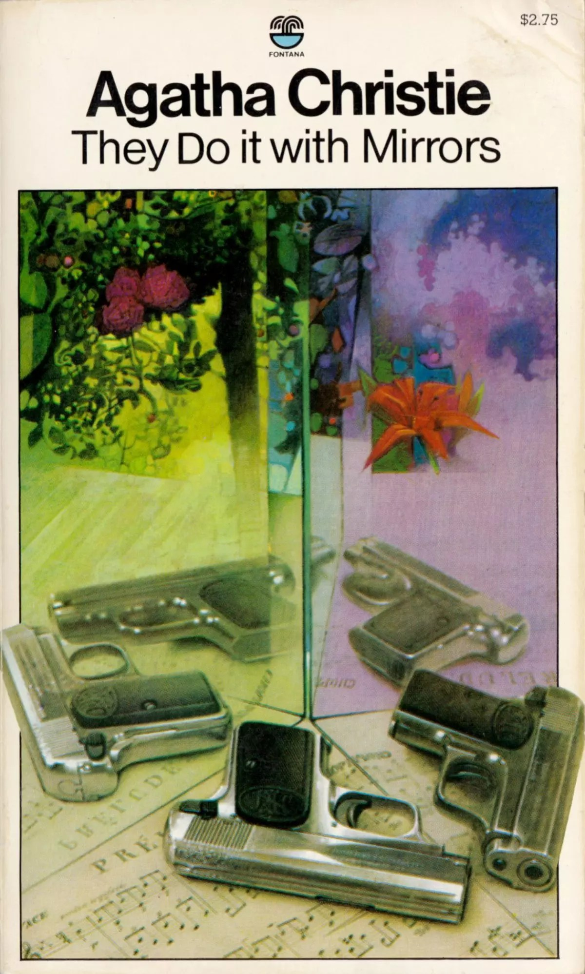 Agatha Christie Tom Adams They Do It With Mirrors Fontana 1981