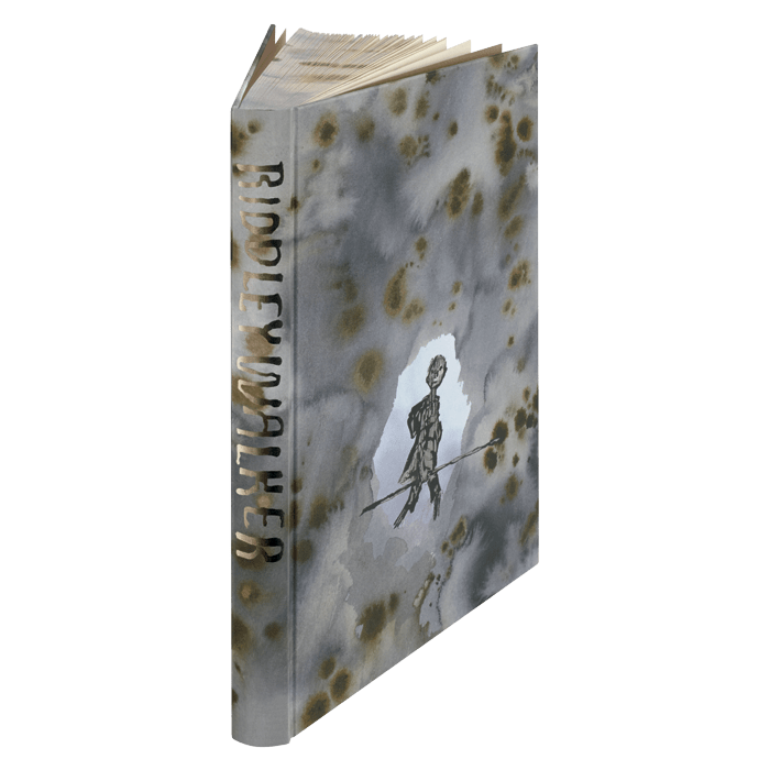 Folio Society Ridley Walker page edges