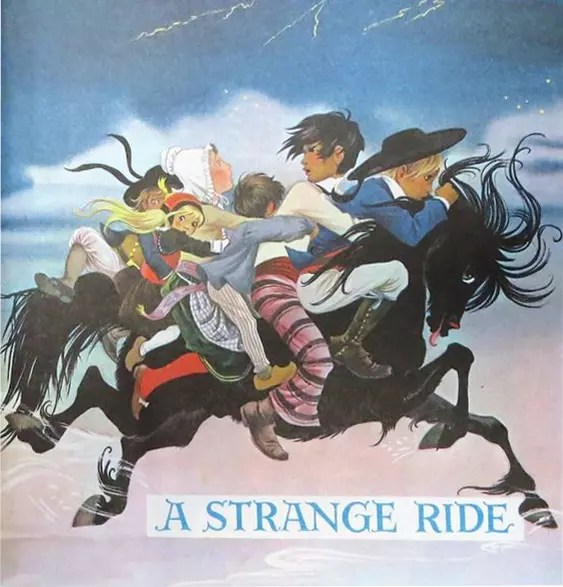 GJT Finding Out 8 1 Cover Art A Strange Ride