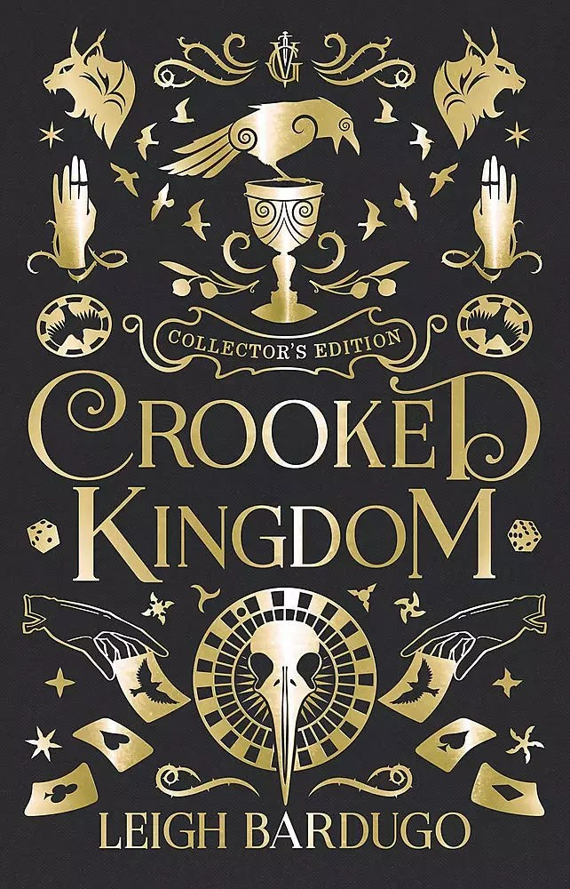 leigh bardugo crooked kingdom collectors ed cover