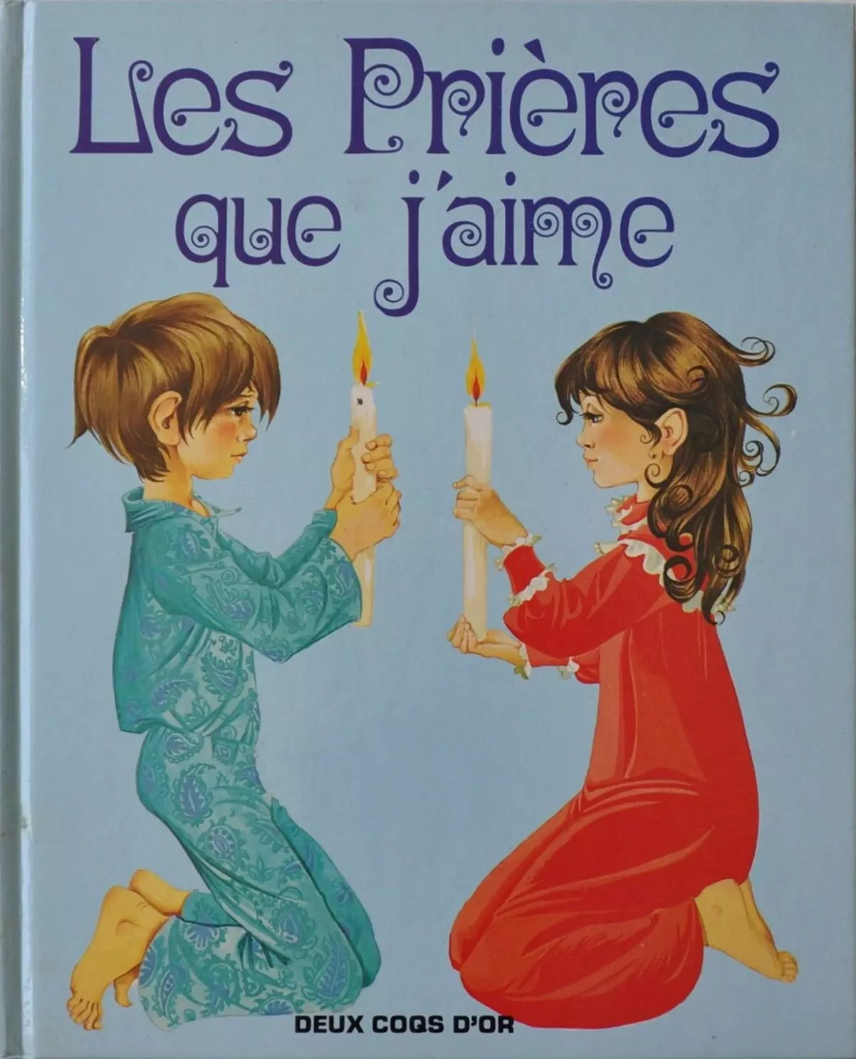 GJT French Les prieres que jaime gift book of prayers for children